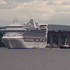 Caribbean Princess<br /> Princess Cruises<br /> 24th August 2013<br /> South Queensferry